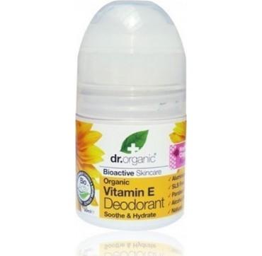 Dr Organic Vitamin E Roll-on Deodorant 50ml