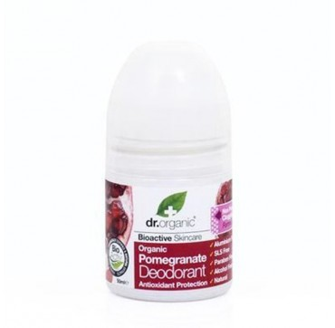 DR ORGANIC POMEGRANATE ROLL-ON DEODORANT 50ml