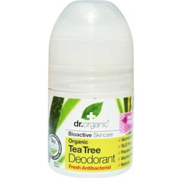 Dr Organic Tea Tree Roll-on Deodorant 50ml