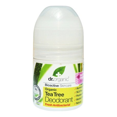 DR ORGANIC TEA TREE ROLL-ON DEODORANT 50ml