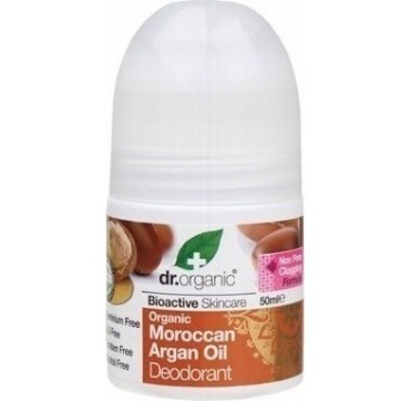 DR ORGANIC MOROCCAN ARGAN OIL ROLL-ON DEODORANT 50ml