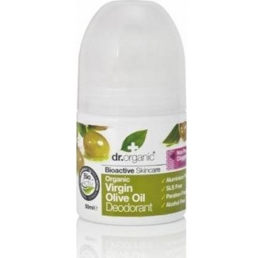 DR ORGANIC VIRGIN OLIVE OIL ROLL-ON DEODORANT 50ml