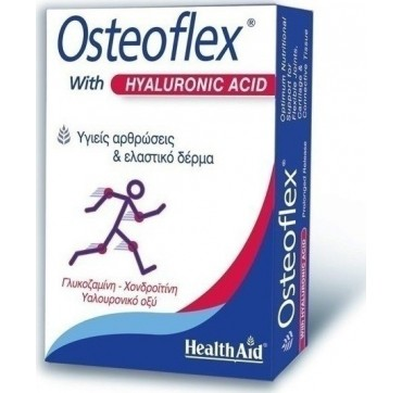 HEALTH AID OSTEOFLEX W/ HYALURONIC ACID 60caps