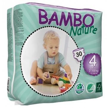 BAMBO NATURE ΠΑΝΕΣ ΟΙΚΟΛΟΓΙΚΕΣ Νο4 (7-18kg) 30τεμ.