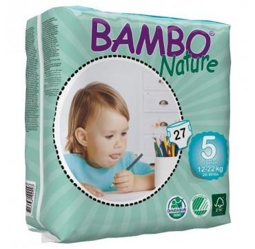 BAMBO NATURE ΠΑΝΕΣ ΟΙΚΟΛΟΓΙΚΕΣ Νο5 (12-22kg) 27τεμ.