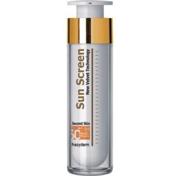 Frezyderm Sunscreen Velvet Face Cream Αντηλιακό Προσώπου Spf50+ 50ml