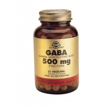 SOLGAR GABA 500mg 50vcaps