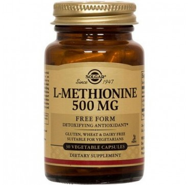 SOLGAR L-METHIONINE 500mg 30caps