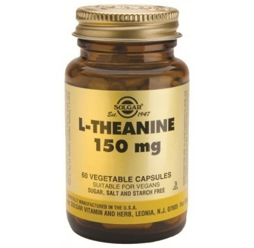 SOLGAR L-THEANINE 150mg 60vcaps