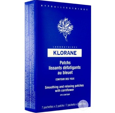KLORANE SMOOTH RELAX EYE PATCHES 14τεμ.