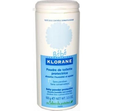 KLORANE BEBE POUDRE DE TOILETTE PROTECTRICE 100G