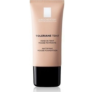 LA ROCHE-POSAY TOLERIANE TEINT MATTYFYING MOUSSE FOUNDATION LIGHT BEIGE spf20 NO2 30ml