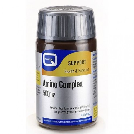 Quest Amino Complex Tabl 500mg 45tabs