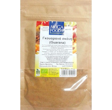 MEGA FOODS PREMIUM GUARANA ROOT POWDER 125gr