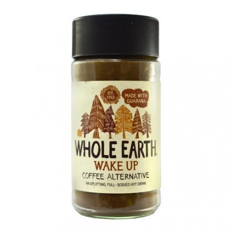 WHOLE EARTH WAKEUP COFFEE ALTERNATIVE ΥΠΟΚΑΤΑΣΤΑΤΟ ΚΑΦΕ ΜΕ ΓΚΟΥΑΡΑΝΑ 125gr