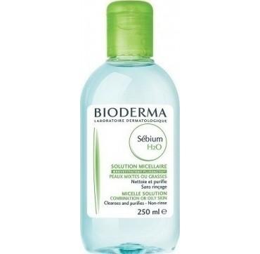 Bioderma Sebium H2o Διάλυμα Καθαρισμού Για Ακμή 250ml
