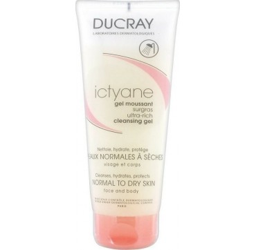 DUCRAY ICTYANE GEL MOUSSANT SUGRASS 200ml