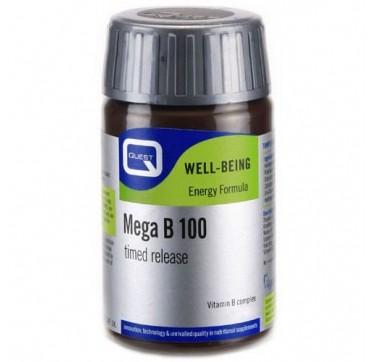 QUEST MEGA B-100 TIMED RELEASE 60tabs