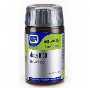 QUEST MEGA B-50 TABL 30tabs