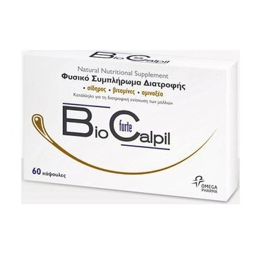 Omega Pharma Biocalpil Forte Κατά Της Τριχόπτωσης 60caps