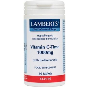 Lamberts Vitamin C-time 1000mg 60tabs