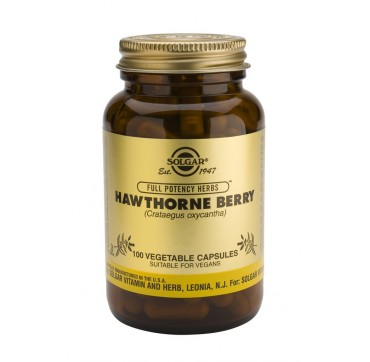 Solgar Hawthorne Berry 520mg 100vcaps