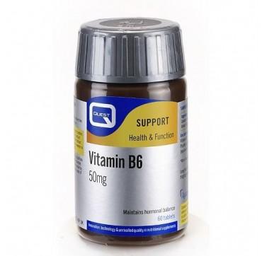 Quest Vitamin B6 50mg 60caps