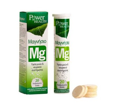 POWER HEALTH MAGNESIUM 220mg 20effer.tabs