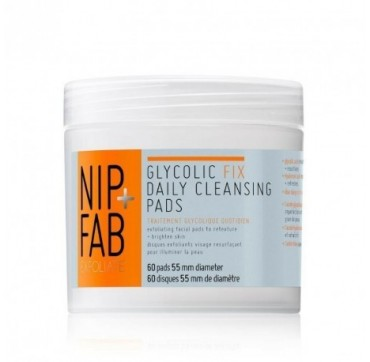 NIP+FAB GLYCOLIC FIX DAILY CLEANS PADS 60τμχ