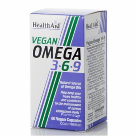 HEALTH AID VEGAN OMEGA 3-6-9 60caps