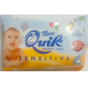 PHARMA CARE QUIK BABYCARE SENSITIVE CLEANSING WIPES 72τεμ