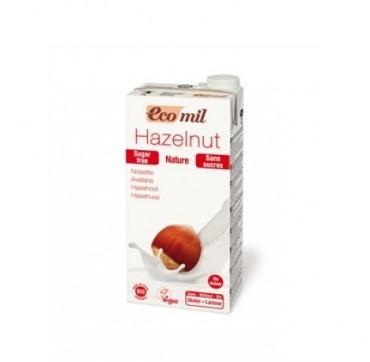 Ecomil Bio Hazelnut Milk Γάλα Φουντουκιού Χωρίς Ζάχαρη 1lt