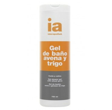 IA INTERAPOTHEK OAT SHOWER GEL ΜΕ ΦΥΤΡΑ ΣΙΤΑΡΙΟΥ 750ml
