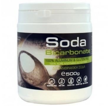 Ola-bio Σόδα Bicarbonate Χωρίς Αλουμίνιο Και Γλουτένη 500g