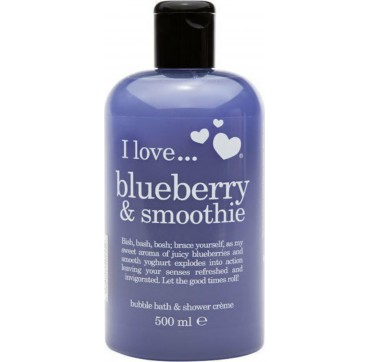 I LOVE COSMETICS BLUEBERRY AND SMOOTHIE BUBBLE BATH 500ml