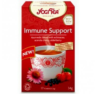 OLA-BIO YOGI TEA IMMUNE SUPPORT 17τεμ.