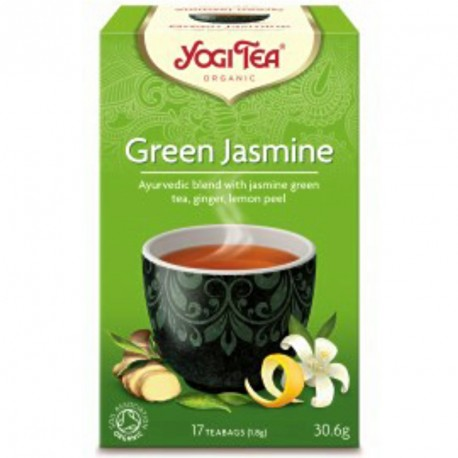 YOGI TEA GREEN JASMINE 17 teabags