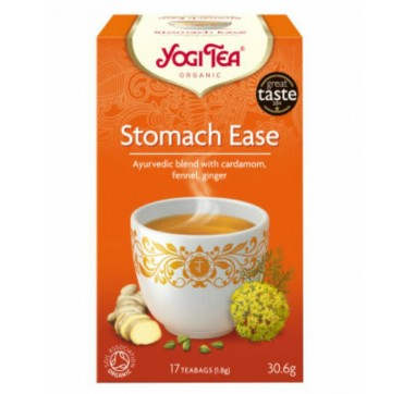 YOGI TEA STOMACH EASE 17 teabags