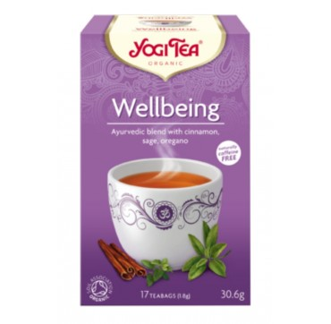 YOGI TEA WELLBEING 17 teabags
