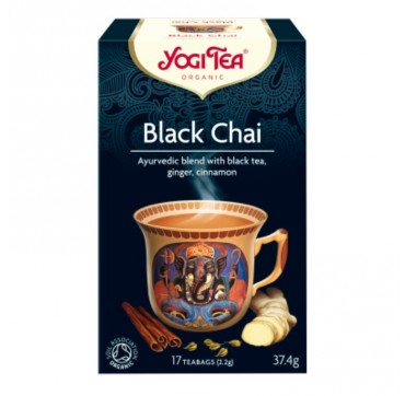 OLA-BIO YOGI TEA BLACK CHAI 17τεμ.