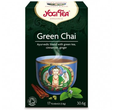 YOGI TEA GREEN CHAI 17 teabags
