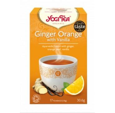 Yogi Tea Ginger Orange 17 Teabags
