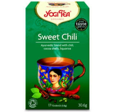 YOGI TEA SWEET CHILI 17 teabags