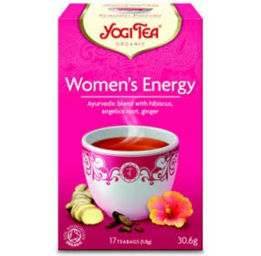 YOGI TEA WOMENS ENERGY 17 teabags