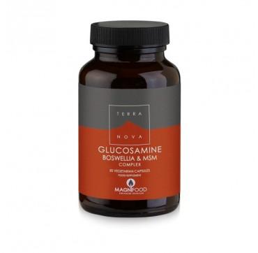 Terranova Glucosamine Boswellia & Msm Complex Join Support 50caps