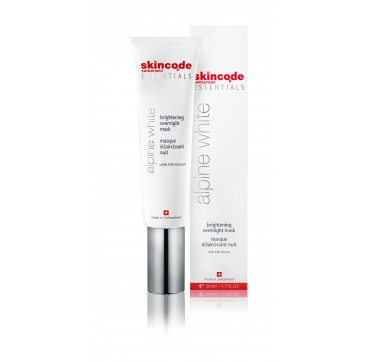 SKINCODE ESSENTIALS ALPINE WHITE BRIGHTENING OVERNIGHT MASK 50ML