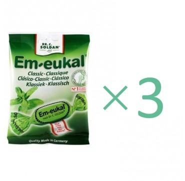 Drcsoldan Em-eukal Eucalyptus (sugar Free) 50gr X3