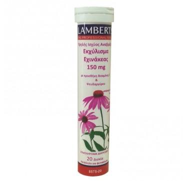 Lamberts Echinacea 150mg 20effer.tabs