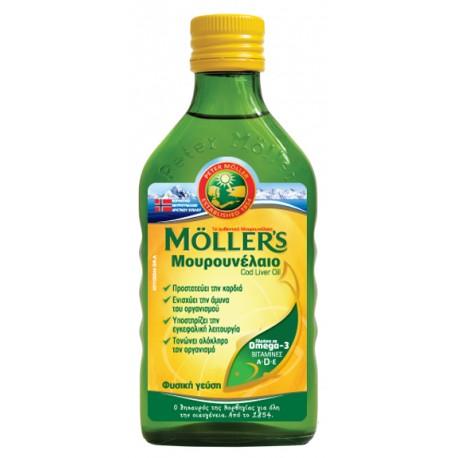 MOLLER'S Μουρουνέλαιο Natural