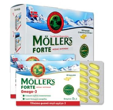 MOLLER'S FORTE OMEGA -3 15ΟCAPS